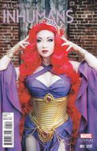 Image: All-New Inhumans #1 (Cosplay variant cover - 00121) - Marvel Comics