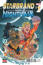 Image: Starbrand & Nightmask #1 - Marvel Comics