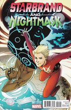 Image: Starbrand and Nightmask #1 (variant cover - Lupacchino) - Marvel Comics