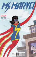 Image: Ms. Marvel #2 (Hembeck variant cover - 00221) - Marvel Comics