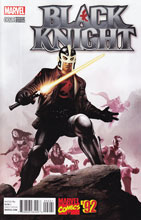 Image: Black Knight #2 (Epting Marvel '92 variant cover - 00221) - Marvel Comics