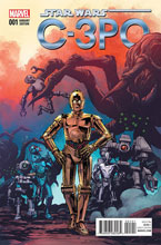 Image: Star Wars Special: C-3PO #1 (Brown variant cover) - Marvel Comics