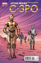 Image: Star Wars Special: C-3PO #1 ( Nauck Classic variant cover) - Marvel Comics