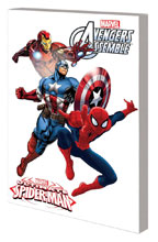Image: Marvel Universe Ultimate Spider-Man & the Avengers Digest SC  - Marvel Comics