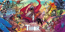 Image: Mighty Thor #1 by Dauterman Vinyl Poster  - Marvel Comics
