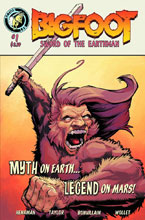 Image: Bigfoot: Sword of the Earthman #1 - Action Lab Entertainment