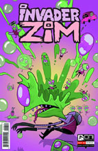 Image: Invader Zim #6 - Oni Press Inc.