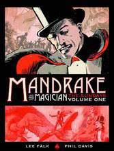 Image: Mandrake the Magician: The Hidden Kingdom of Murdereres - Sundays 1935-1937 HC  - Titan Comics