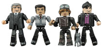 Image: Gotham: Before the Legend Minimates Series 2 Set  -