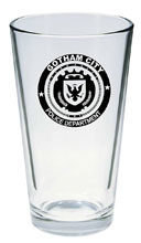 Image: Gotham Pint Glass: Gotham City Police Department  -