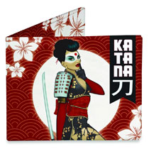 Image: DC Comics Bombshells Mighty Wallet: Katana  -