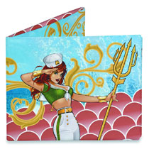 Image: DC Comics Bombshells Mighty Wallet: Mera  -