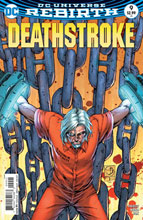 Image: Deathstroke #9 (variant cover - Shane Davis) - DC Comics