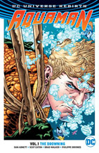 Image: Aquaman Vol. 01: The Drowning  (Rebirth) SC - DC Comics