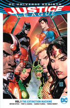 Image: Justice League Vol. 01: The Extinction Machines SC  - DC Comics