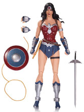 Image: DC Comics Icons Action Figure 019: Wonder Woman  - DC Comics