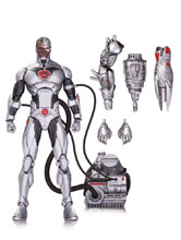 Image: DC Comics Icons Action Figure 020: Cyborg  (Deluxe) - DC Comics