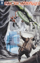 Image: Micronauts #8 (incentive cover - J.K. Woodward) (10-copy) - IDW Publishing