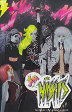 Image: Jem: The Misfits #1 (incentive cover - George Caltsoudas) (10-copy)  [2016] - IDW Publishing