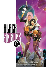 Image: Black Science Limited Edition Statue  - Image Comics