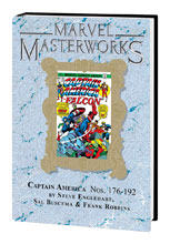 Image: Marvel Masterworks Captain America Vol. 09 HC  (variant cover) (243) - Marvel Comics