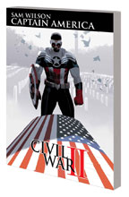 Image: Captain America: Sam Wilson Vol. 03 - Civil War II SC  - Marvel Comics