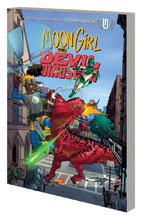 Image: Moon Girl and Devil Dinosaur Vol. 02: Cosmic Cooties SC  - Marvel Comics