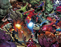 Image: Monsters Unleashed by McNiven Poster  - Marvel Comics
