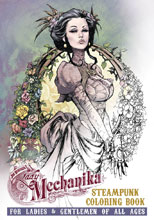 Image: Lady Mechanika Steampunk Coloring Book Vol. 01 SC  - Benitez Productions