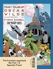 Image: Tales of Oscar Wilde Complete Set Vol. 1-5 SC  - NBM