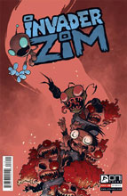 Image: Invader Zim #16 - Oni Press Inc.