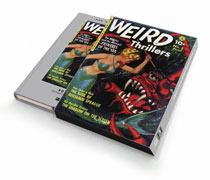 Image: Pre Code Classics: Weird Adventures / Thrillers Vol. 01  (slipcase edition) - PS Artbooks