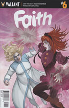 Image: Faith #6 (Doran incentive cover - 00651) (20-copy) - Valiant Entertainment LLC