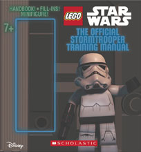 Image: Lego Star Wars: The Official Stormtrooper Training Manual  (w/Figure) - Scholastic Inc.