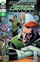 Image: Hal Jordan & the Green Lantern Corps #34 (variant cover - Barry Kitson) - DC Comics
