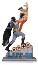 Image: Batman vs. Joker Statue: Laff-Co Battle  - DC Comics