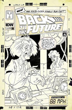 Image: Back to the Future: Tales From the Time Train #1 (incentive cover - Philip Murphy) (25-copy)  [2017] - IDW Publishing