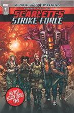 Image: Scarlett's Strike Force #1 (cover A - Tolibao)  [2017] - IDW Publishing
