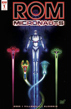 Image: Rom & the Micronauts #1 (incentive cover - Jeffrey Veregge) (10-copy)  [2017] - IDW Publishing