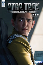 Image: Star Trek: Boldly Go #15 (incentive cover - Photo) (10-copy) - IDW Publishing