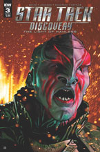 Image: Star Trek: Discovery: The Light of Kahless #3 (cover A - Shasteen)  [2017] - IDW Publishing