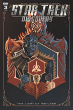 Image: Star Trek: Discovery: The Light of Kahless #3 (incentive cover - George Caltsoudas) (10-copy) - IDW Publishing
