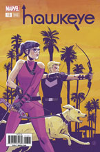 Image: Hawkeye #13 (Legacy) (variant cover - Walsh) - Marvel Comics