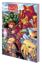 Image: Marvel Mangaverse: The Complete Collection SC  - Marvel Comics