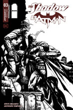 Image: Shadow / Batman #3 (cover H incentive - Desjardins) (30-copy)  [2017] - Dynamite