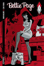 Image: Bettie Page #6 (cover B - Chantler)  [2017] - Dynamite