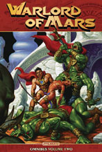 Image: Warlord of Mars Omnibus Vol. 02 SC  - Dynamite