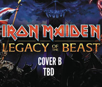 Image: Iron Maiden: Legacy of the Beast #3 (cover B) - Heavy Metal Magazine
