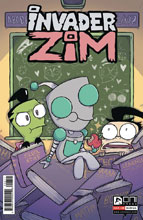 Image: Invader Zim #26 - Oni Press Inc.
