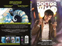 Image: Doctor Who - The Eleventh Doctor: The Sapling Vol. 01: Growth SC  - Titan Comics